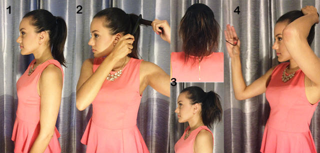 How to: Thick, Full Bun for Short or Thin Hair