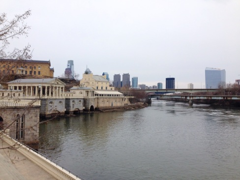 View of Philly from River