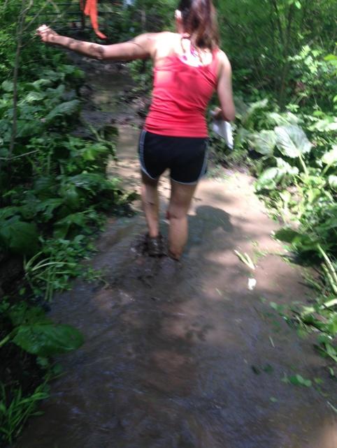 Walking through Mud