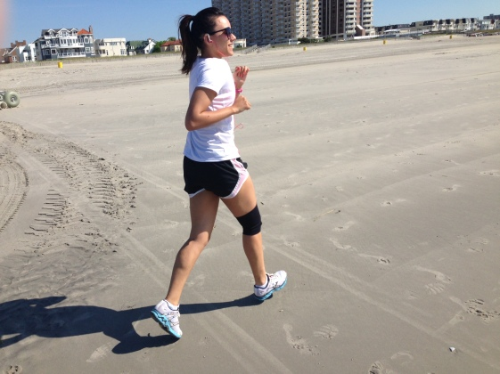 Running on AC BEach