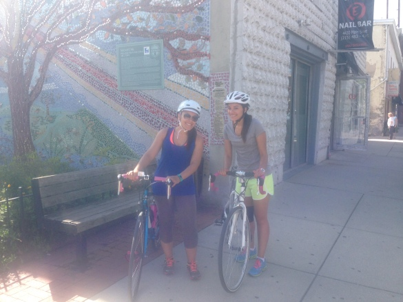 Ang & Me in Manayunk