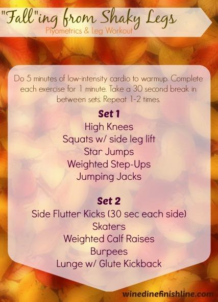 Falling From Shaky Legs - Plyometric and Leg Workout