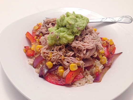 Pulled Pork Burrito Bowl