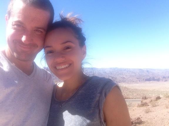 Ed and I in Arizona