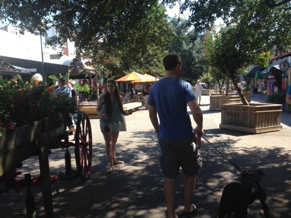 Ed & Corrina in Savannah