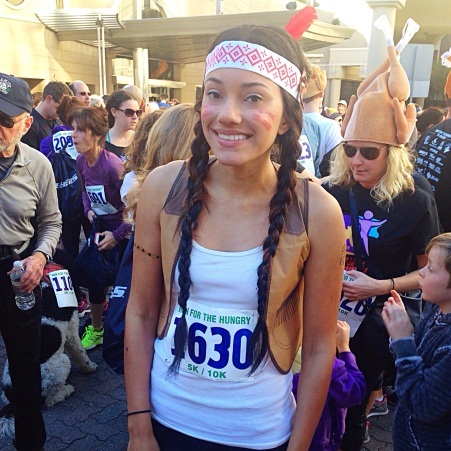 Me at SD Run for the Hungry