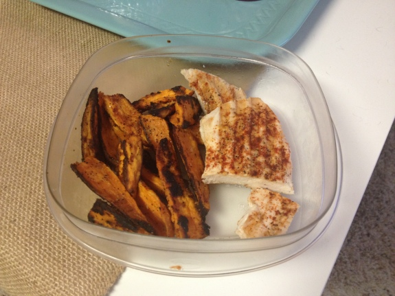 Spicy Chicken & Sweet Potatoes