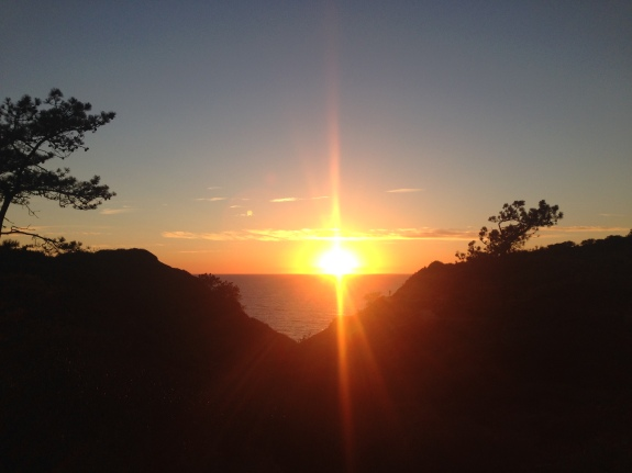 Sunset at Torrey Pines