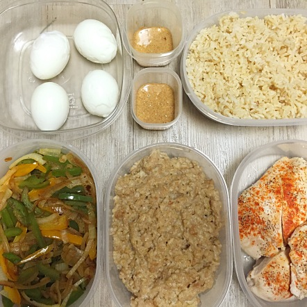 21 Day Challenge Meal Prep