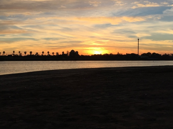 Sunset at Mission Bay