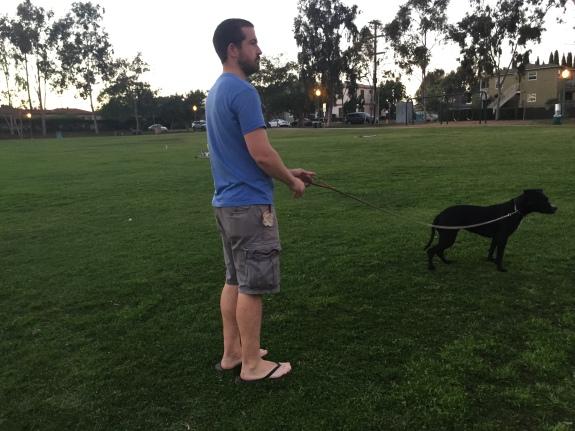 Ed and Corrina at Park
