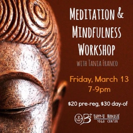 Meditation & Mindfulness Workshop